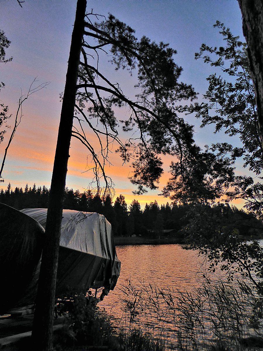 Morgenröte kurz nach zwei