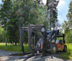Spezialstapler Holztransport