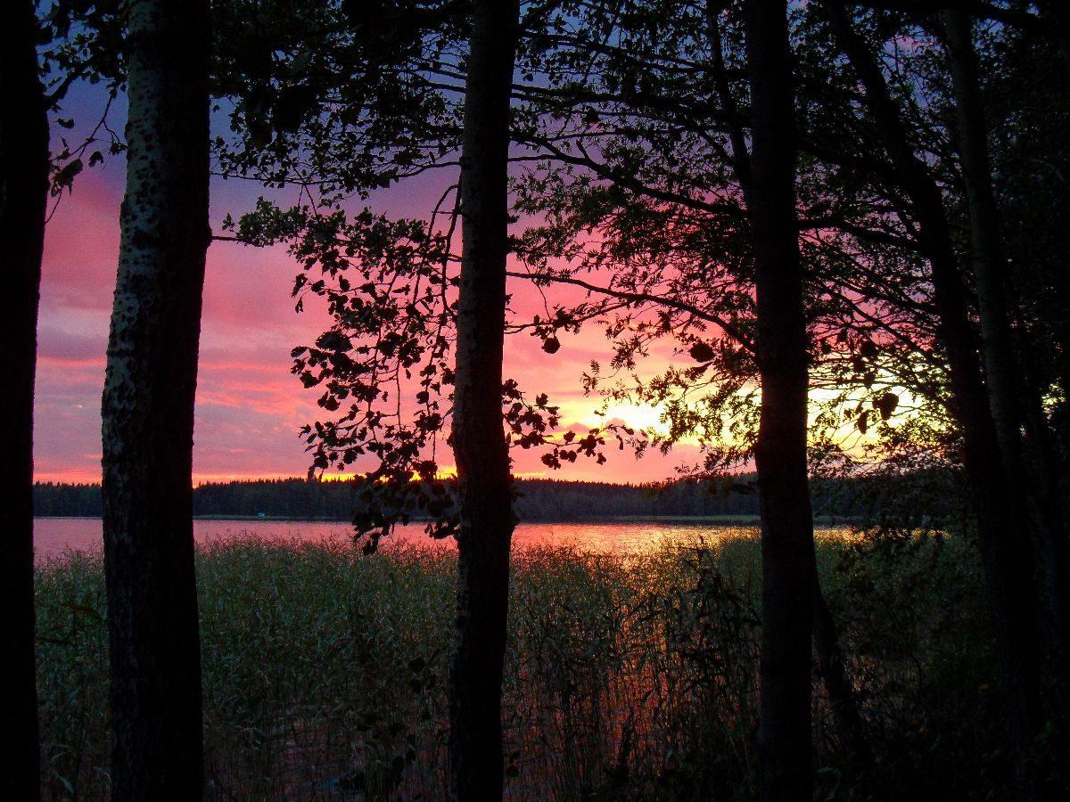 Sonnenuntergang auf Lomasaari