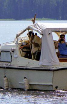 Probefahrt mit dem Boot