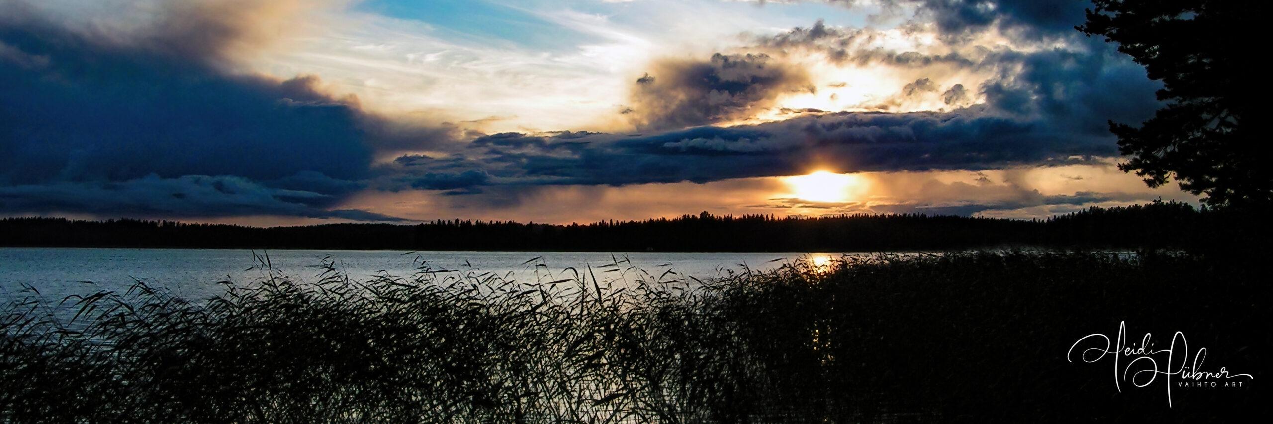 Blue Evening muuttosaaret finland huebner photography heidi huebner vaihto art