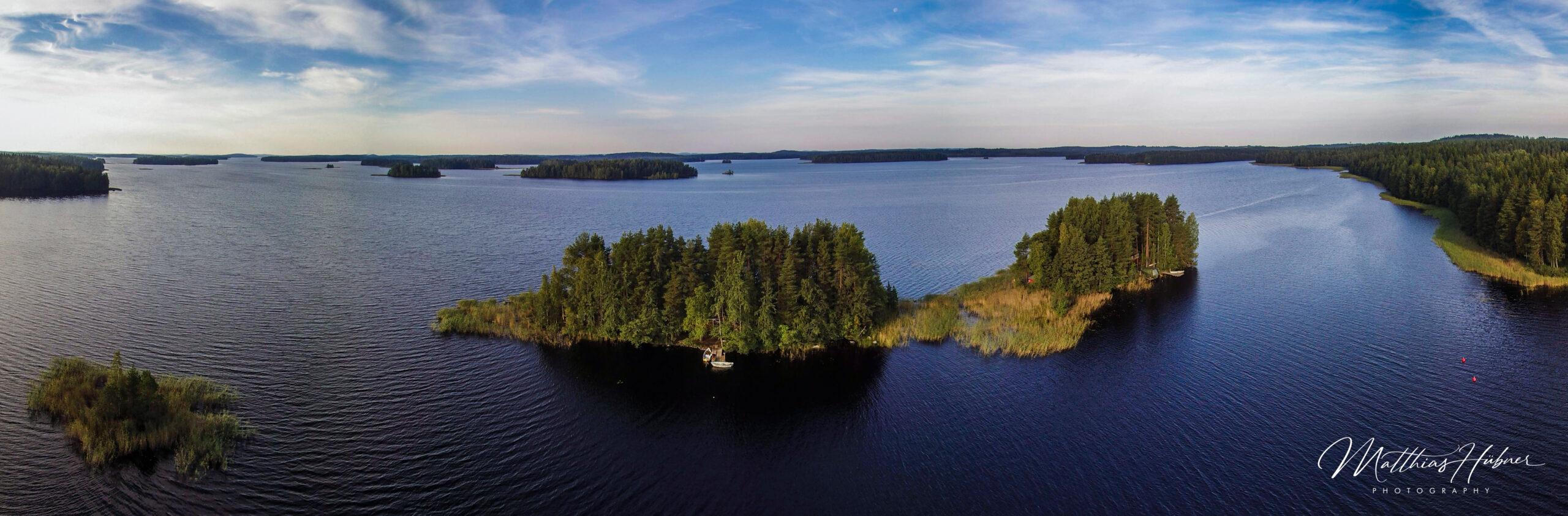 Muuttosaaret Savo Finland Panorama huebner photography