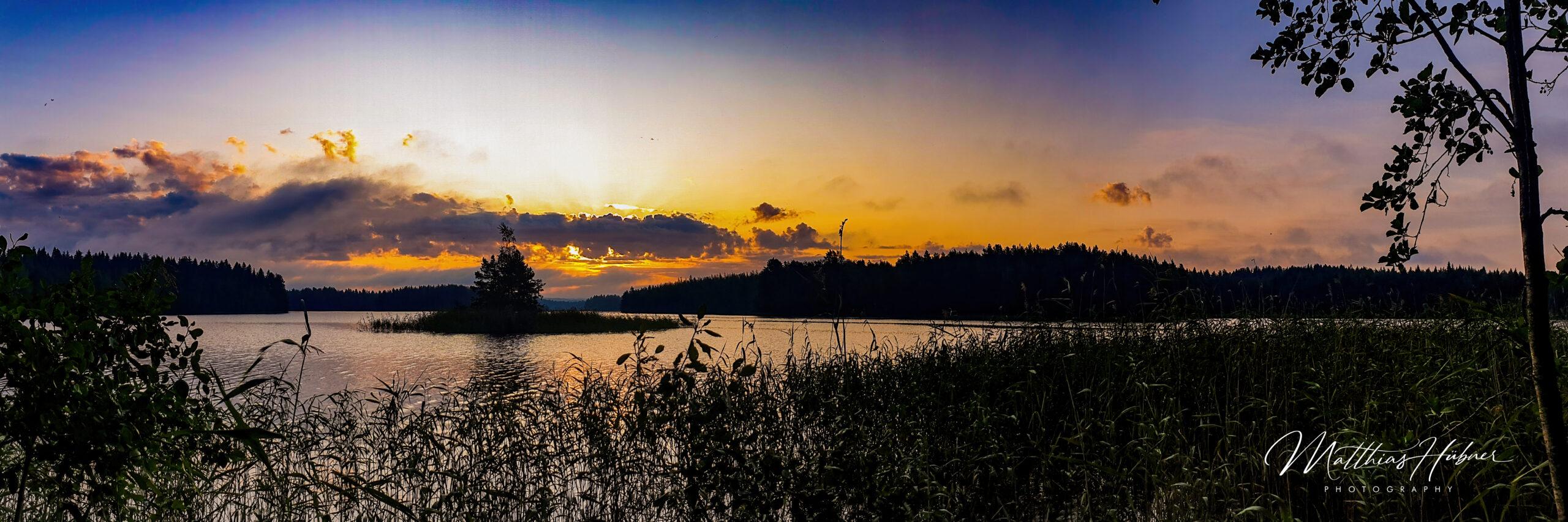 Sunrise muuttosaaret finland huebner photography