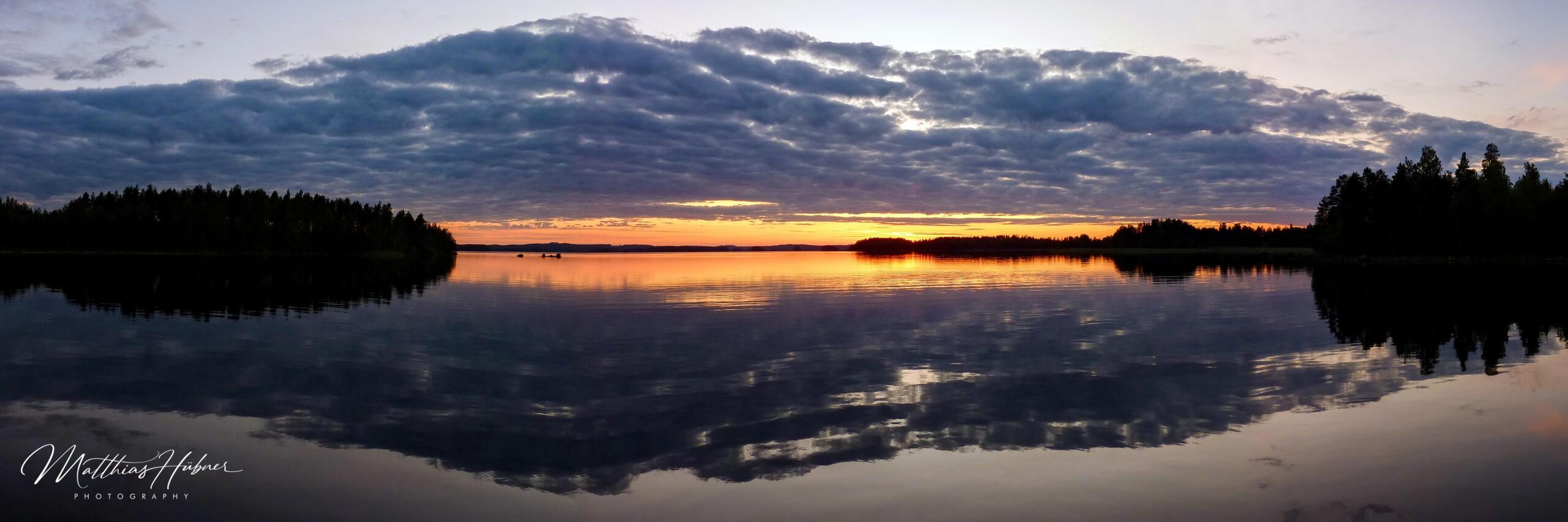Sunset Hietavirta finland huebner photography