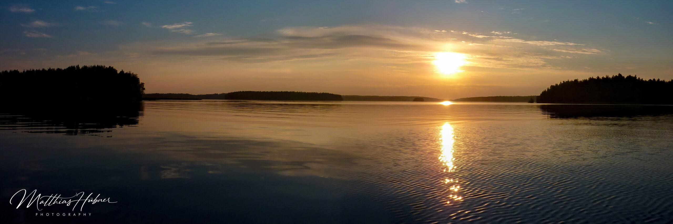 Sunset Unnukka finland huebner photography