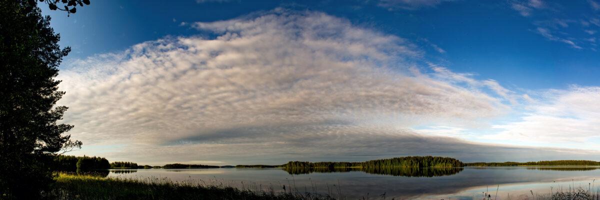 Midsummer Muuttosaaret Savo Finland Panorama huebner photography