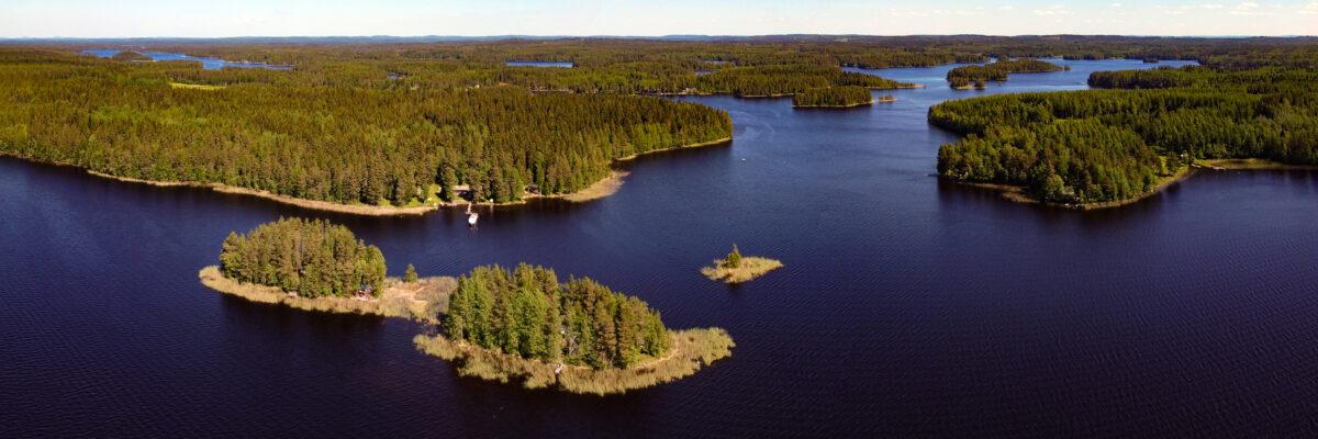 Summer Muuttosaaret Savo Finland Panorama huebner photography