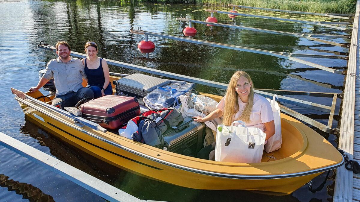 motorboat muuttosaaret finland huebner photography